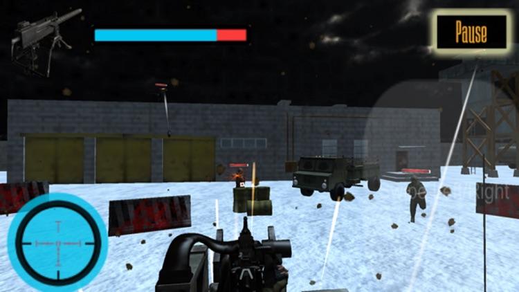 US Army Gunner Battle City War screenshot-3