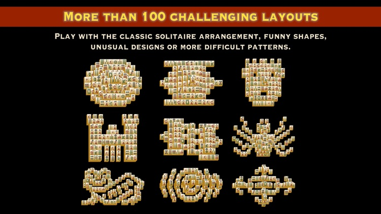 Mah Jongg Tiles Solitaire