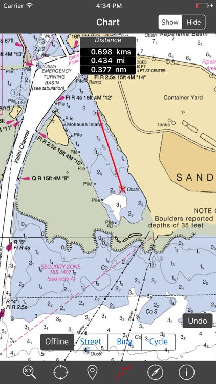 HAWAII ISLANDS – Raster Nautical Charts