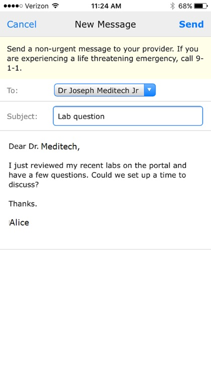 MEDITECH MHealth screenshot-2