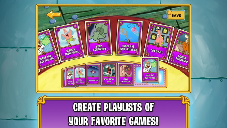 SpongeBob's Game Frenzy screenshot-3