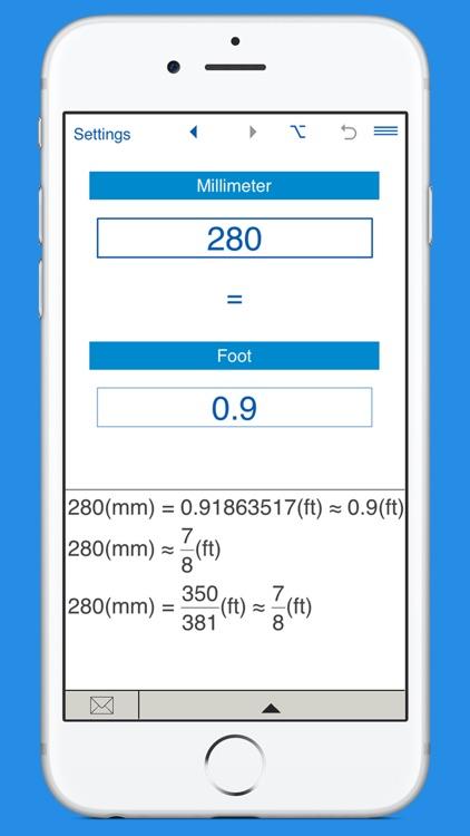 Feet / Millimeters length converter