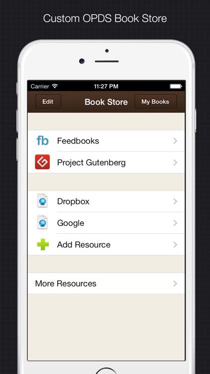 YiBook - epub txt reader screenshot-4