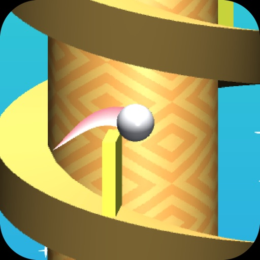 Jump Ball Tower - Dodge The Wall to Endless