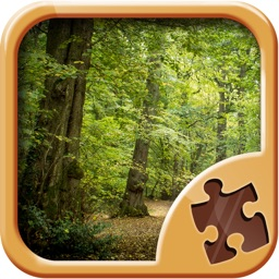 Forest Puzzle Game - Nature Picture Jigsaw Puzzles