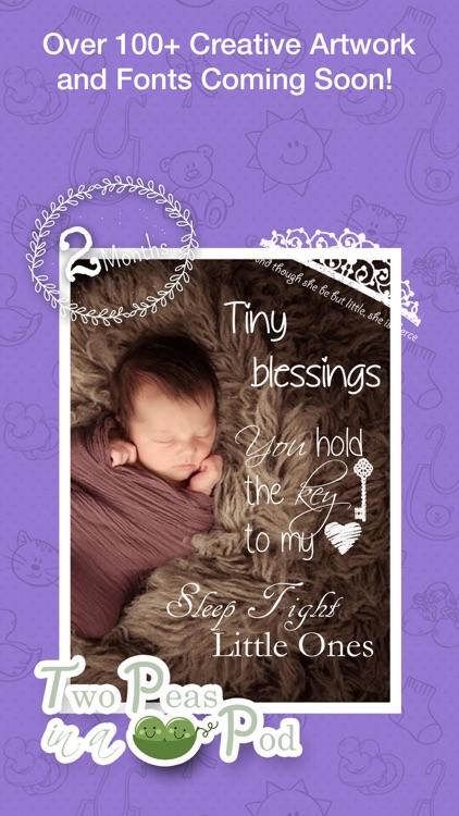 Baby Photo- Pregnancy Baby Pics & Baby Milestones screenshot-4
