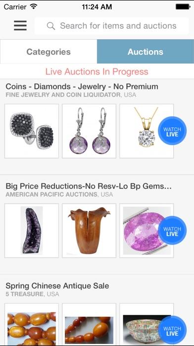 Live Auctions app image