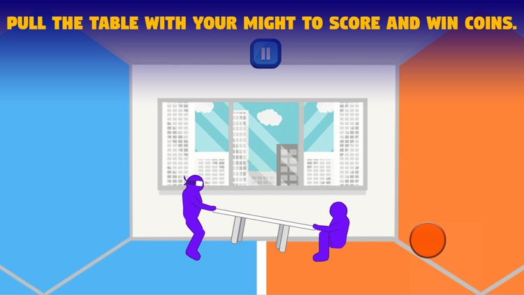 Tug The Table - Soccer Physics Sumotori Dreams War screenshot-0