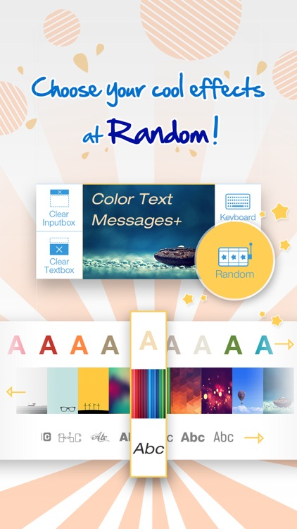 Color Text Messages+ Customize Keyboard Free Now screenshot-4