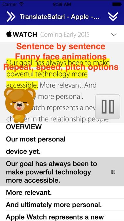 Translate for Safari screenshot-4