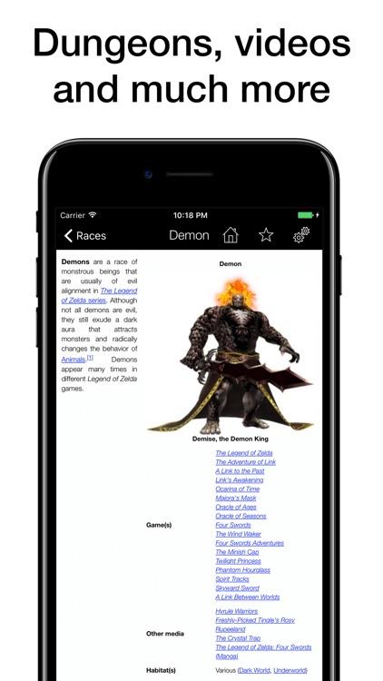 Pocket Wiki for Zelda screenshot-4