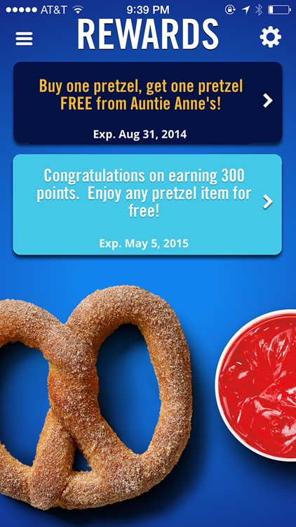 Auntie Anne's Pretzel Perks screenshot-2