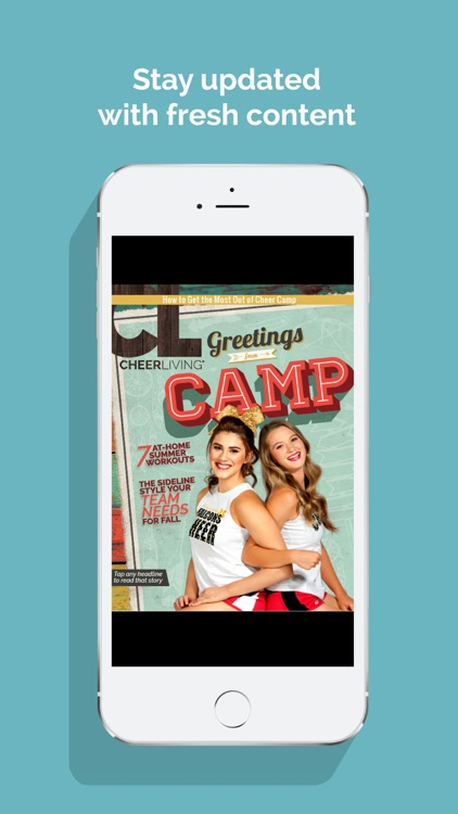 CheerLiving Magazine - Lifestyle of a Cheerleader