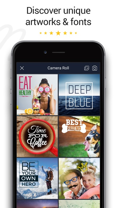 download Fontmania - Write on Photos apps 2