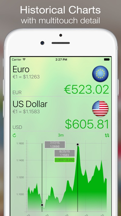 Currency+ Lite (Converter, Charts, Trend, Alerts) screenshot-3