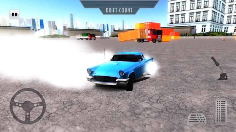 Street Drift Retro Cars Racing 2017: Freestyle screenshot-3