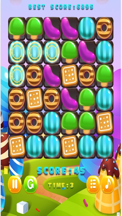 Candy Lollipops Match 3 screenshot-4