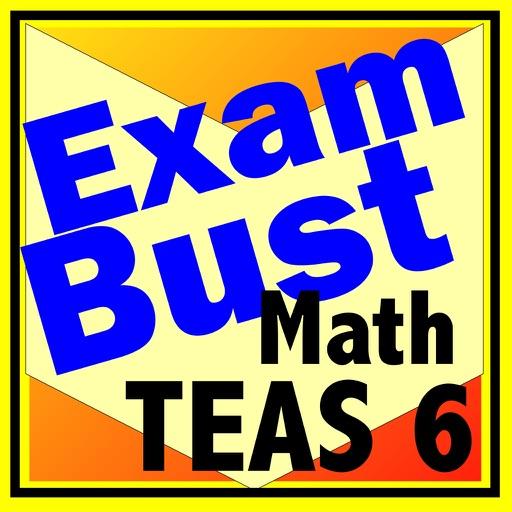 TEAS 6 Prep Math Flashcards Exambusters
