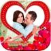 6.浪漫爱情贴纸相框相机(情人节约会婚礼纪念日表白贺卡片)