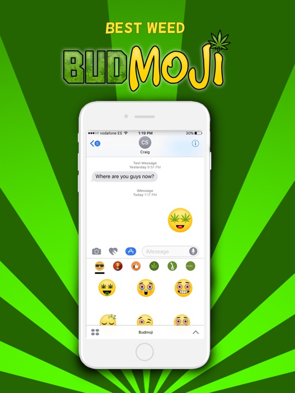 Budmoji - The Best Weed Emojis Screenshots