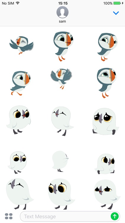 Puffin Rock Stickers