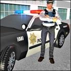 City Police Car Duty Simulator: Crime Town Cops icon