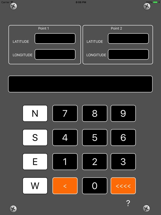 Coordinates Distance Calculator