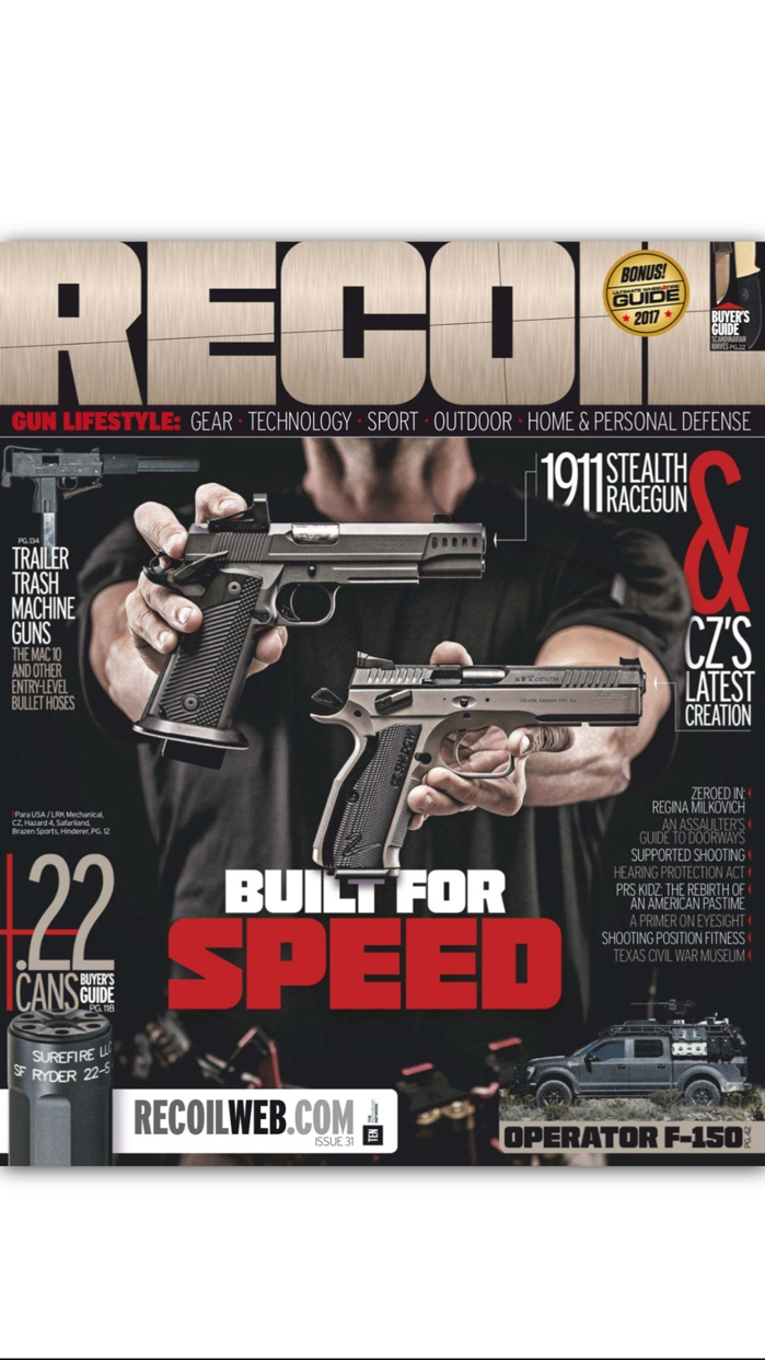 Recoil Magazine Screenshot