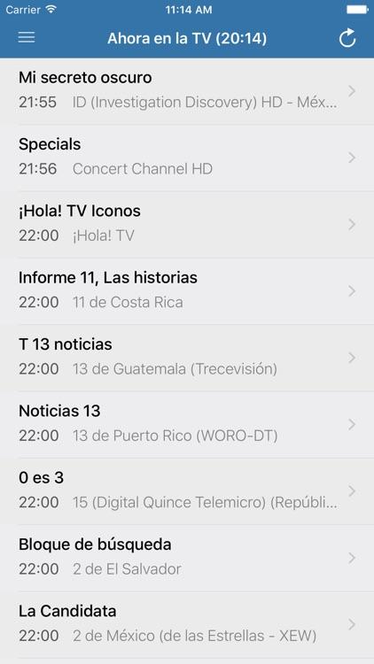 Televisión de Guatemala - TV screenshot-3