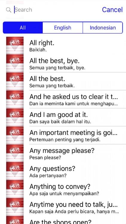 Indonesian Phrases