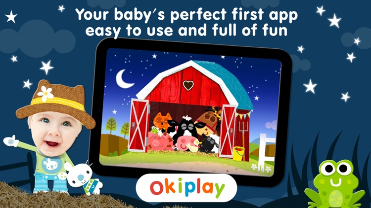 Peek a Boo Farm Animals Sounds screenshot-4