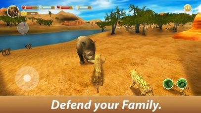 Leopard Family Simulator screenshot 3