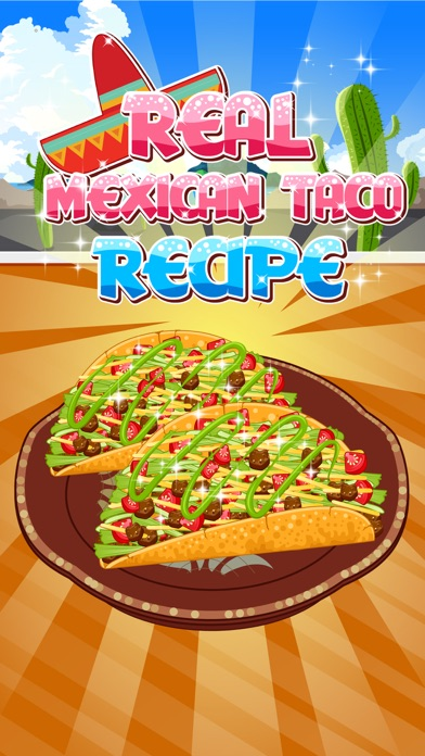 Real Mexican Taco - cooking game for kidsScreenshot of 1
