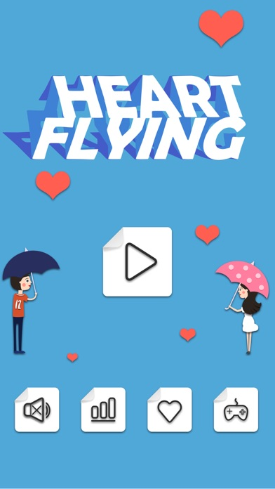 Heart Flying Shooting Time