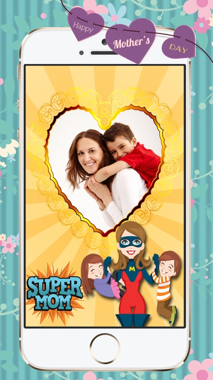 Mother's Day Happy Season Photo Frames Editor screenshot-3