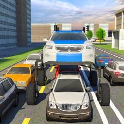 Elevated Car Driving Simulator:Mr President Escort
