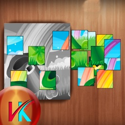 Picture Blocks Arrange The Blocks - Puzzle