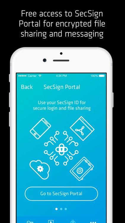 SecSign ID screenshot-4