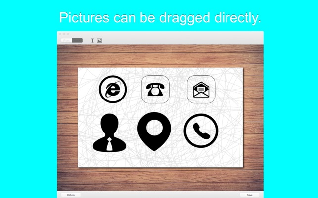 Business card easy creator on the mac app store reheart Gallery