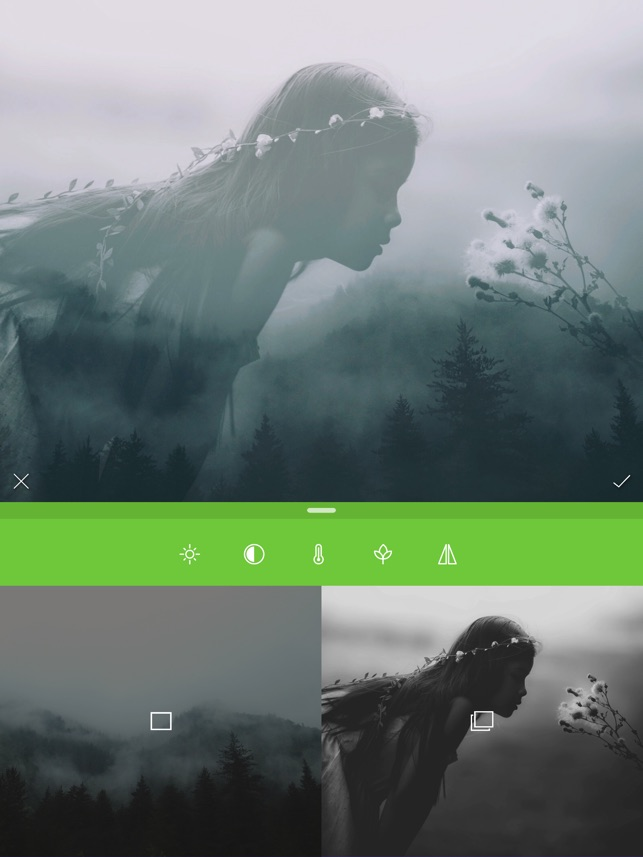 Merge Photos(Retouch) - p图ps软件 Screenshot