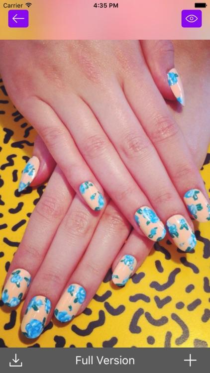 Nail Art Manicure Booth: Beauty Salon Nail Designs
