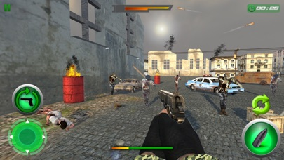 Crazy Zombie Sniper Shooting War screenshot two