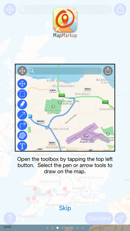MapMarkup screenshot-2