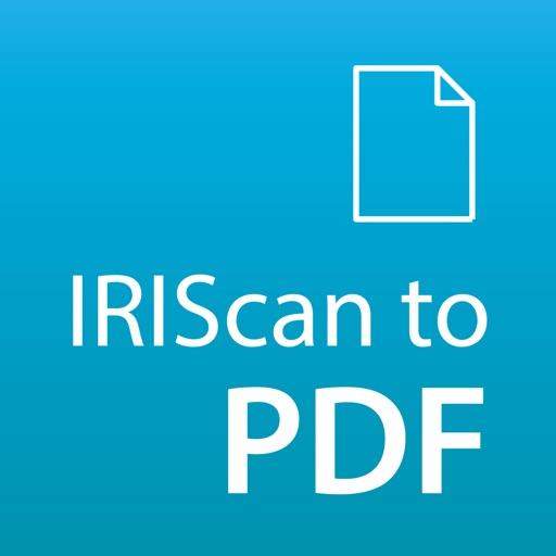 IRIScan to PDF