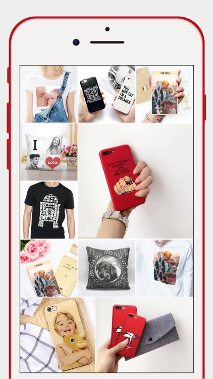 iCreatife - DIY Phone Case, T-shirt & Pillow.