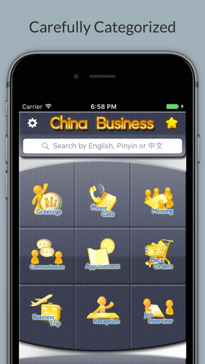 Business Chinese - Phrases, Words & Vocabulary screenshot-0