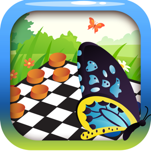 Butterfly Themes Checkers Board Puzzles Games Pro app
