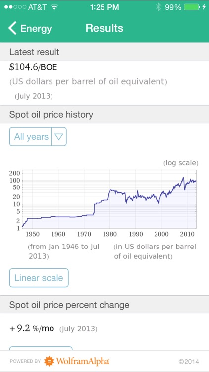 Wolfram Personal Finance Assistant App screenshot-4