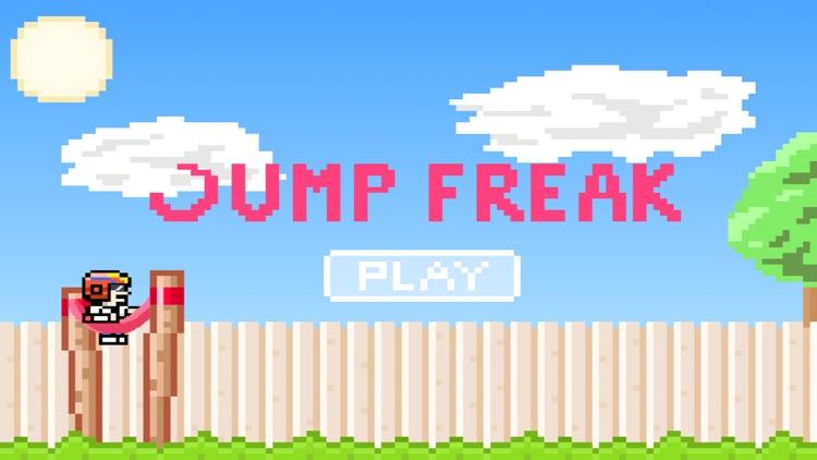 Jump Freak - A guy who loves to jump. screenshot-4