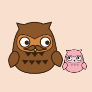Owl Dad  for Father's day Kawaii emoji app